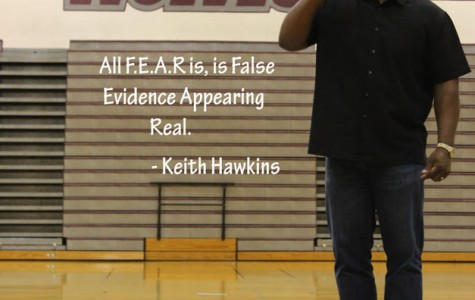 Motivational Speaker Keith Hawkins Visits PR