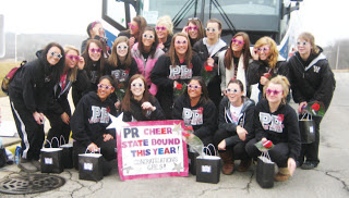 Cheerleaders Place 11th at State