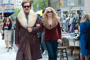Dec. 20: Long-awaited sequel: Will Ferrell is Ron Burgundy and Christina Applegate is Veronica Corningstone in Anchorman 2: The Legend Continues.