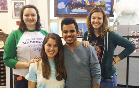 Marissa Gabel, Maggie Tucker, DJ Lima, and Lily Schiller will participate in the  Illinois Music Educators Association All-State Choirs on January 25, 2014.