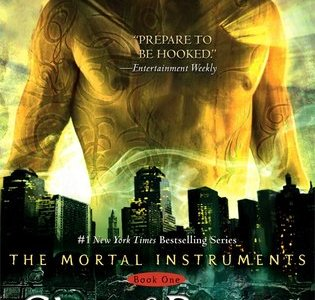 City of Bones by Cassandra Clare is the first book in The Mortal Instruments series.