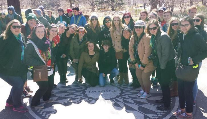 Over spring break, PR students and staff traveled to the East Coast.