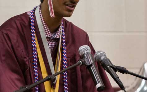 Aaditya Rawal delivered his valediction to the class of 2015 on Saturday, May 30.