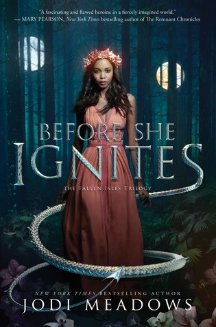 Before She Ignites by Jodi Meadows
