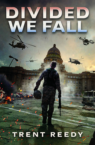 Divided We Fall by Trent Reedy, a near-future thriller, is a contender for the 2018 Illinois Teen Readers' Choice Lincoln Award.