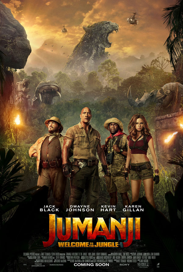 Jumanji ... Minus Robin Williams