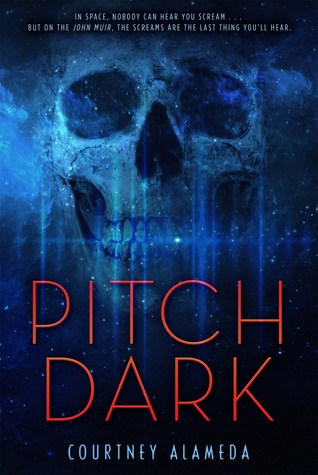 Katie Thompson gives 4 stars to Pitch Dark by Courtney Alameda.