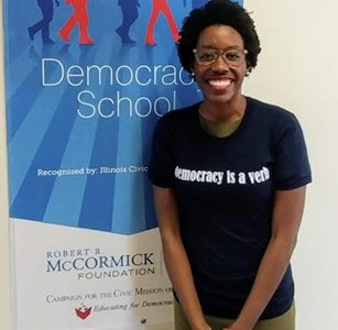 Congressional candidate for the 14th district Lauren Underwood visited PR students on October 9, 2018.
