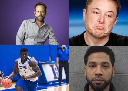 In news stories they are following in early March 2019, Prairie Ridge students mentioned these four celebrities: Luke Perry, Elon Musk, Zion Williamson, and Jussie Smollett.
