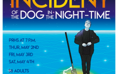 The PR Theater Department presents The Curious Incident of the Dog in the Night-Time, directed by Tim Kennett and starring Ross Relic, May 2, 3, 4, 2019, at 7:00 pm.