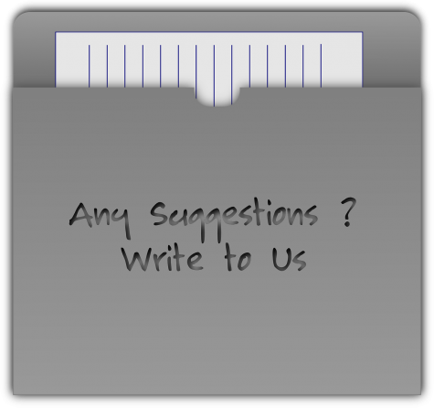 Do you have a suggestion for PR? Use the Submit a Letter link at the top of the page.