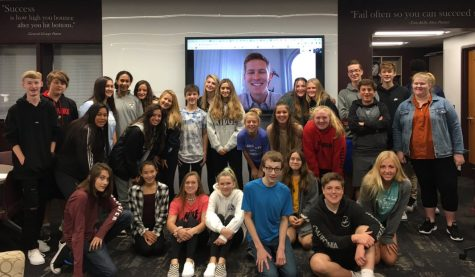 "In August, Introduction to Business students met virtually with PR graduate Sam Wheeland to discuss the power of networking, obtaining a mentor, and learning that ""the worst thing someone can say is no."""