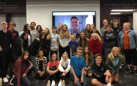 In August, Introduction to Business students met virtually with PR graduate Sam Wheeland to discuss the power of networking, obtaining a mentor, and learning that