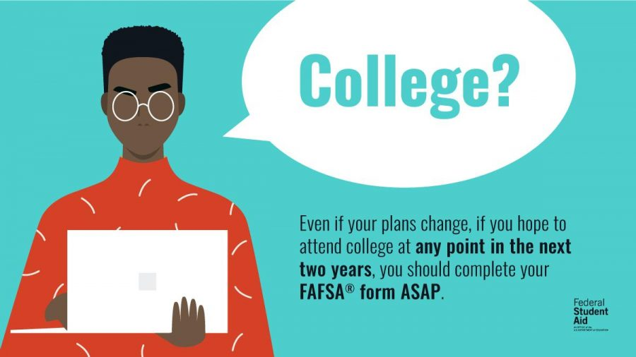 Follow @FAFSA on Twitter for tips on applying for federal student aid.