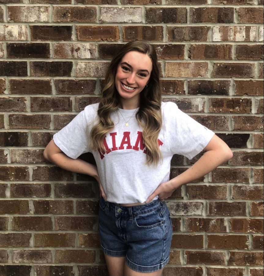 Lauren Roos was nominated by a faculty member as a senior to know from the class of 2021.