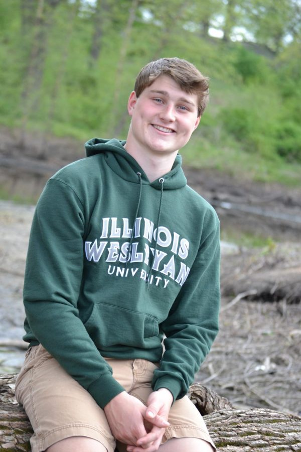 Tyler Crawford was named by faculty as a senior to know from the class of 2021.