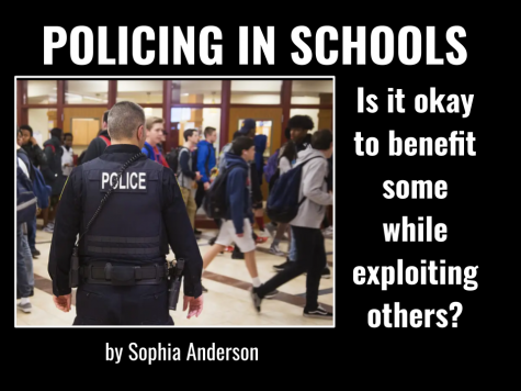 Policing in Schools: Is it okay to benefit some while exploiting others?